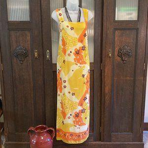 Retro Mlle Gabrielle Maxi Floral Dress Size 18
